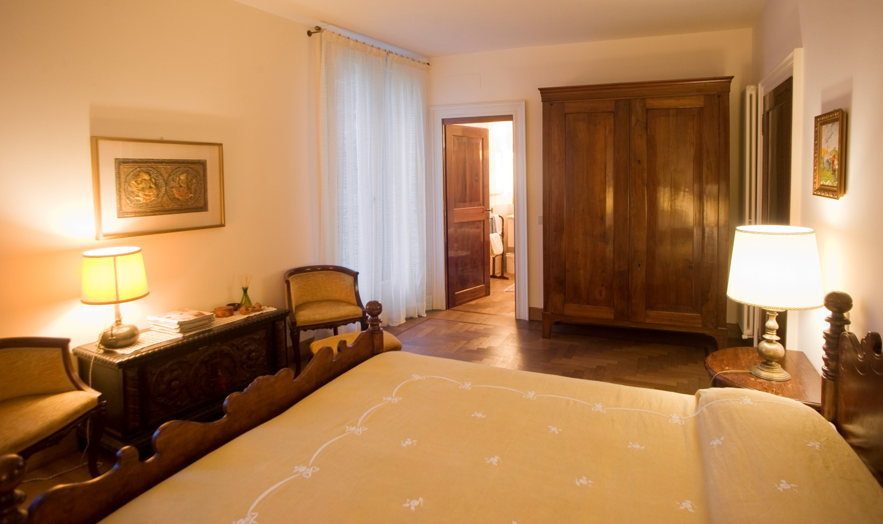 B&b al ponte Vicenza camera matrimoniale 02