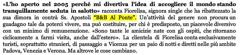 """particolare articolo """"La nuova Vicenza"""""""